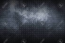 black metal texture. Grunge Diamond Plate. Dirty Black Metal Background And Texture. 3d Illustration. Stock Illustration Texture N