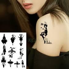 водонепроницаемая временная тату наклейка мини аниме временная татуировка