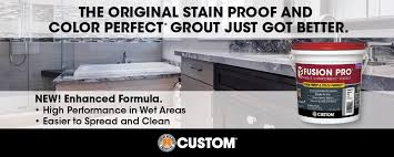 Daltile Grout Chart Fusion Pro Custom Building Products