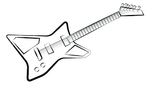 coloring pages electric guitar coloring page pages pictures free printable