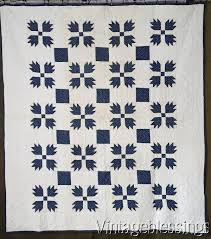 1122 best Antique & Vintage Quilts images on Pinterest | Cheddar ... & Never Washed Indigo Blue & White Bear Paw QUILTc1880 Antique Adamdwight.com