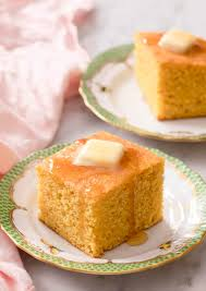 Corn pone also known as indian pone is a type of cornbread made from a thick cornmeal dough that lacks eggs and milk. Cornbread Recipe Preppy Kitchen