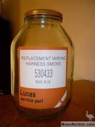 lucas wiring harness smoke
