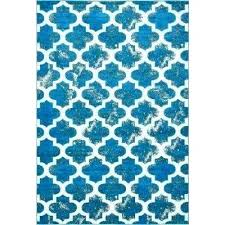 blue rag rug turquoise blue rag rug 6 x 9 area rugs the home depot unique