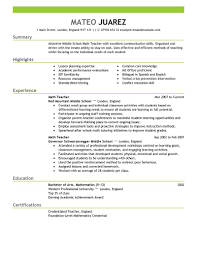 Health Educator Resume