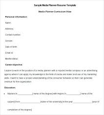 Premium Resume Templates Inspiration Media Resume Template Free Samples Examples Format Download Premium