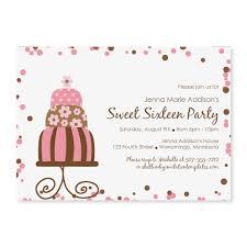 Best Photos of Birthday Cake Invitation Template Free - Birthday ... Birthday Party Invitation Templates