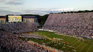 Lane Stadium Seating Chart Student Section Lane Stadium Virginia Tech Hokies Stadium Journey