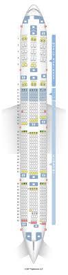 seatguru seat map klm boeing 777 300er 77w seatguru