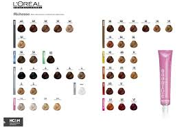 l oréal professionnel richesse color chart