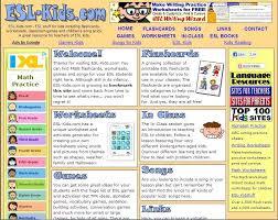 ESL-Kids - Flashcards, Worksheets, Games and So...