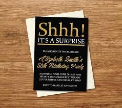 Unusual Surprise Party Invitation Templates Template Ideas