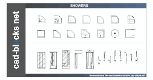 shower cubicles plan. Showers And Mixers In Plan, Frontal Side Elevation View CAD Blocks Shower Cubicles Plan E