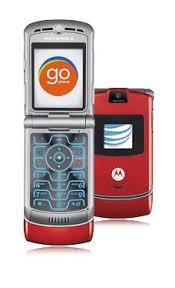 motorola razr colors. motorola razr v3 red (unlocked qadband) reconditioned gsm cell phone razr colors