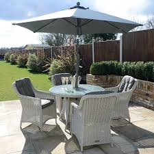 henley 4 chair dining set pebble