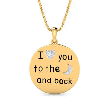 love u 2 the moon and back pendant 31 loading zoom