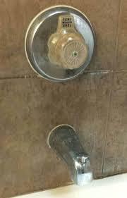 shower spout leaking bathtub faucet spout replacing bathtub handles replace a shower cartridge fix leaky how