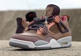 louis vuitton 4s. air-jordan-4-patchwork-louis-vuitton-dank-customs-1.jpg louis vuitton 4s i