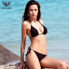 NAKIAEOI New <b>Sexy Bikini 2019</b> Bandage Micro Brazilian <b>Bikini</b> Set ...