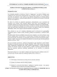 Extraccion De Bixina De Achiote
