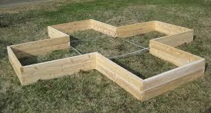 Kitchen Garden Kit Garden Greenes Fence Raised Garden Bed With Regard To Marvelous