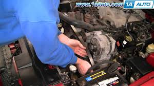 how to install replace engine serpentine accessory drive belt ford how to install replace engine serpentine accessory drive belt ford mustang 3 8l 1aauto com