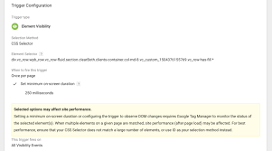 Element Visibility Trigger via GTM: Evaluate UX Features | Elevar