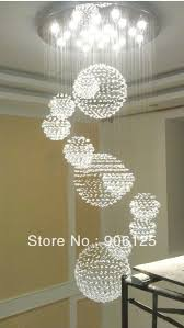 modern chandeliers for large foyer chandelier two story