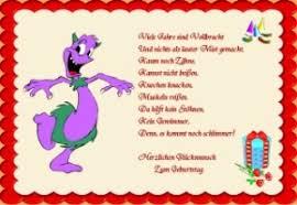 Lustige Gedichte Geburtstag Karten Kostenlos