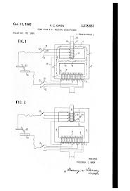 Mechanical electrical large size patent us3278833 core type a c welding transformer patents drawing