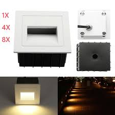 corner lighting. AC 85-265V LED Footlight Wall Corridor Recessed Corner Lights Stair Step Lamp 2W Lighting