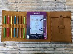 small leather sketchbook custom sketchbook small refillable sketchbook small drawing book small leather drawing book