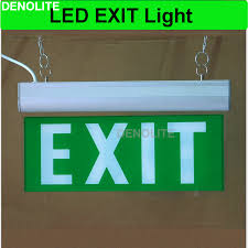 led exit sign lamp rechargeable emergency light with ni cd1 2v battery led emergency