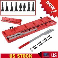 fan removal tool. universal camshaft pulley \u0026 fan clutch removal holder set alignment tool l