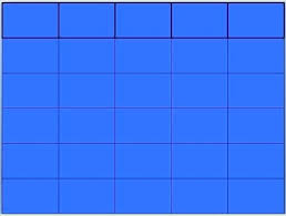 Jeopardy Game Template blank jeopardy template – custosathletics.co