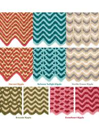 Ripple Afghan Patterns Classy Reversible Ripple Afghans