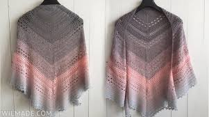 Free Shawl Crochet Patterns Mesmerizing Bella Vita Shawl Free Crochet Pattern