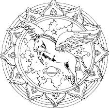 Small Picture 20160409 Pegasus Coloring Page Unicorns Pegasus Pinterest