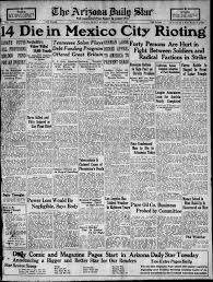 Arizona Daily Star Front Page Feb 2 1923 Tucson Com