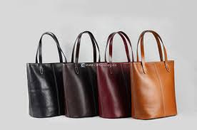 home leather tote bag