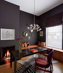 small office interior design. Small Office Interior Design With Black Wall Color I