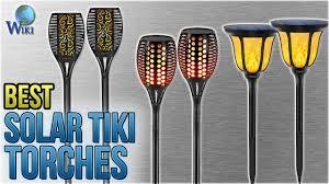 10 best solar tiki torches 2018
