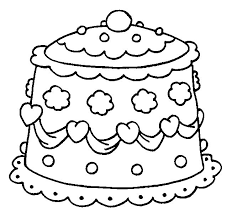 Small Picture Wedding Cake Coloring Pages Coloring Coloring Pages