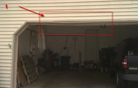 6 this is showing where the right piece connects 7 here s a wide shot of the inside of the garage with the door closed the damaged area is highlighted