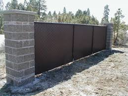 image of privacy slats for chain link fence gates