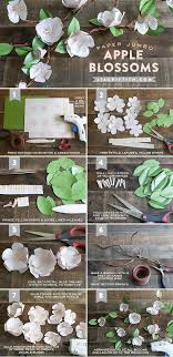 Paper Flower Branches Diy Paper Apple Blossom Branches Creative Projects Paper Flowers