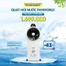 Siêu Thị Điện Máy - Nội Thất Chợ Lớn - ❄ Quạt hơi nước Panworld PW-868 giảm  43% Giá còn: 1.699.000 (̶2̶̶.̶̶9̶̶9̶̶9̶̶.̶̶0̶̶0̶̶0̶) - Xuất xứ Thái Lan -  Có Remote Điều khiển
