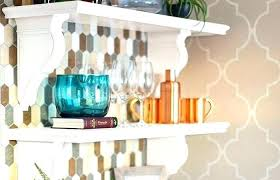 hanging shelves ideas kitchen wall shelf ideas hanging shelves from ikea decorative