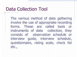 Data Collection Tools Interview And Questionnaire Ppt Video Online
