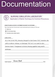 Picc Line Dressing Change Nursing Documentation Nursing